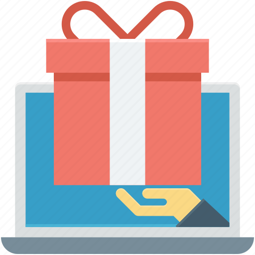 birthday, online gift, online shopping, shopping, surprise search icon