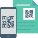 barcode, online store, qr code, scan code, shopping code icon
