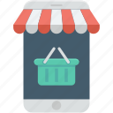 ecommerce, online store, shopping, shopping cart icon