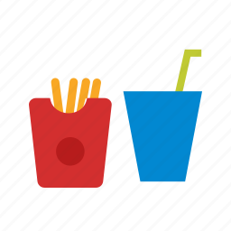drink, fast, food, label, lunch, menu, restaurant icon