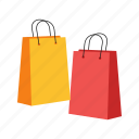 bag, bags, buy, gift, market, shopping, store icon