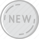 badge, business, new, shop, shopping
