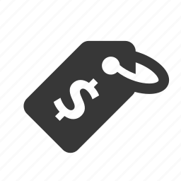 dollar, e-commerce, price tag, raw, shopping, simple, web shop, web store, webshop, webstore icon