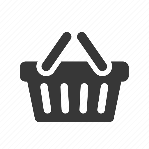 e-commerce, raw, shopping, shopping basket, simple, web shop, web store, webshop, webstore icon