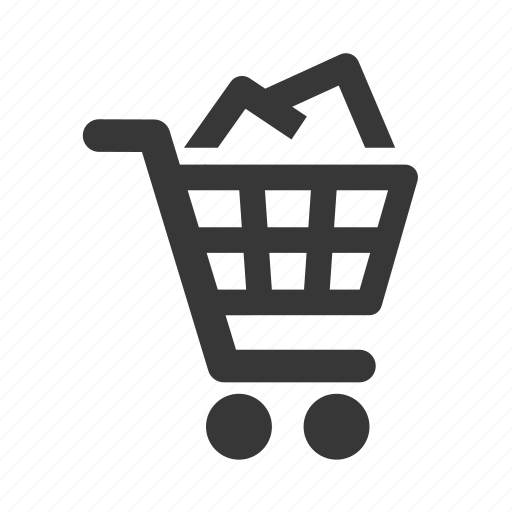 e-commerce, full shopping cart, raw, shopping, shopping cart, simple, web shop, web store, webshop, webstore icon