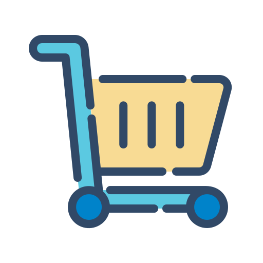 online, shop, shopping, trolley icon