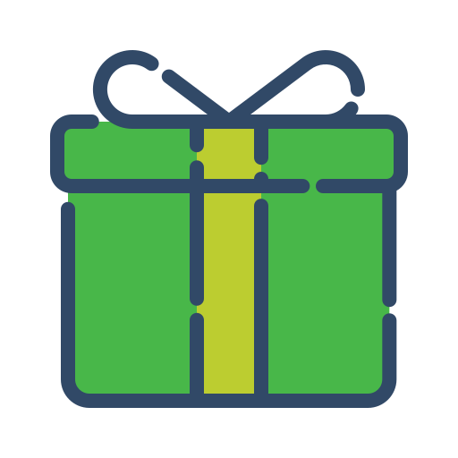 gift, online, shop, shopping icon