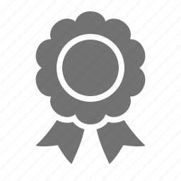 award, label, prize, quality, ribbon, seal, warranty icon