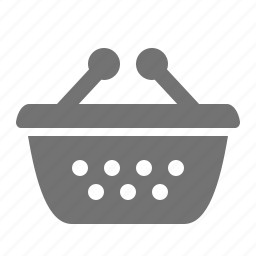 basket, check-out, shopping, store, super-market icon