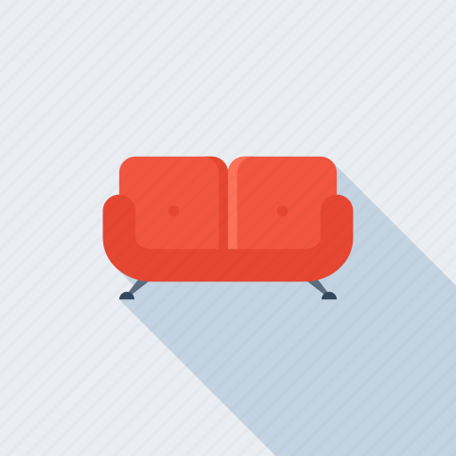 bed, chair, couch, furniture, interior, seat, sofa icon