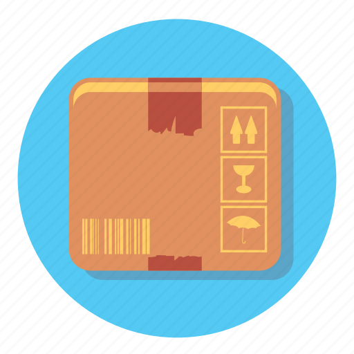box, delivery, package, shipping, shopping, transport icon