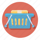 basket, ecommerce, full, online, shipping, shopping icon