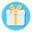 circle, decoration, gift, present, xmas icon