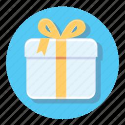 circle, decoration, gift, present, xmas icon