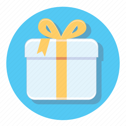 Circle, gift, decoration, present, xmas icon - Download on Iconfinder