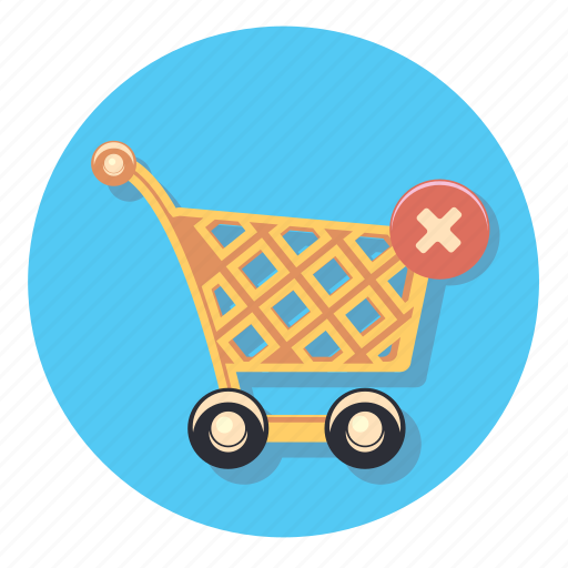 Trolley, wheels, basket, delivery, shopping, store icon - Download on Iconfinder