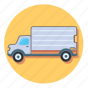 truck, delivery, shipping, transport, vehicle
