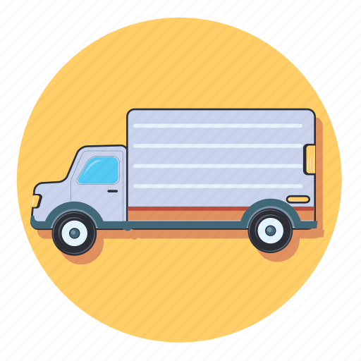 delivery, shipping, transport, truck, vehicle icon