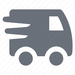 pika, shop, shopping, simple, speed, store, transport, transportation, van, webshop, webstore icon