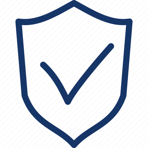 check, mark, protect, protection, secure, security, shield icon