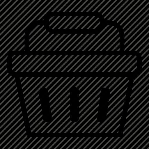 basket, buy, shop, shop basket, shopping, shopping basket icon