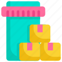 box, buy, ecommerce, online, package, shop, shopping icon