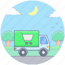 delivery cart, delivery transport, delivery truck, ecommerce delivery, shopping delivery icon