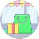buying, ecommerce, gifts, purchasing, shopping icon