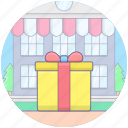 birthday gift, gift, offering, present, surprise, wedding gift, wrapped gift icon