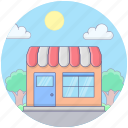 commercial, departmental store, market, shopping store, supermarket, superstore icon