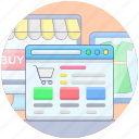 buy online, ecommerce, online shop, online shopping, online store, shopping website icon