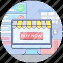 ecommerce, eshop, online shop, online shopping, online store, shopping website icon