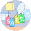 brand tags, discount tags, labels, price tags, sale tags icon