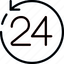 business, hour, shop, shopping icon