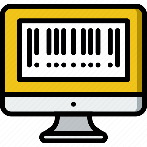 barcode, business, shop, shopping icon