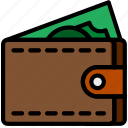 business, money, shop, shopping, spend icon