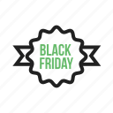 advertising, black, discount, friday, poster, sale, special, tag icon