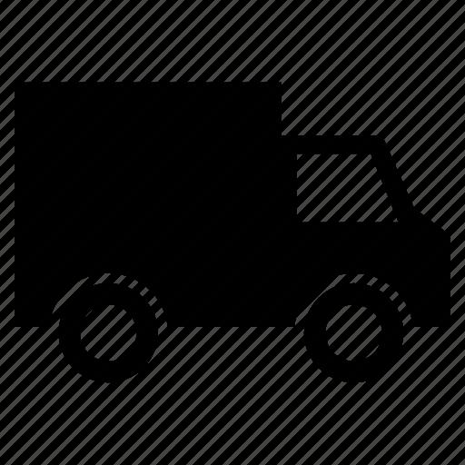 luggage carrier, mini pickup truck, pickup truck, pickup van, transport, van icon