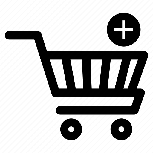 add product, cart, plus products, shopping, shopping cart, shopping trolley, trolley icon