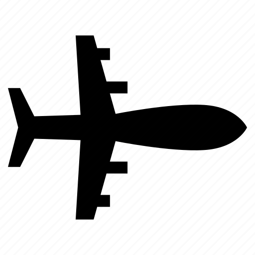 aeroplane, airliner, airplane, plane, transport, travel, travelling icon