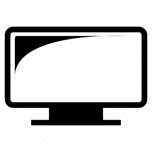 electronics, lcd, led, monitor, television, tv icon