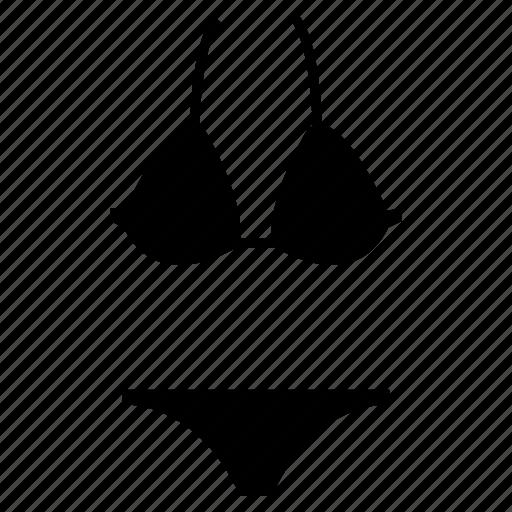 bikini, bra-penty, sexy, sexy bikini, undergarments, women bikini, women's undergarments icon