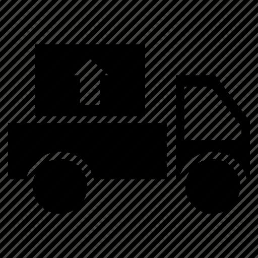 pickup, pickup truck, pickup van, travel, truck, up, van icon