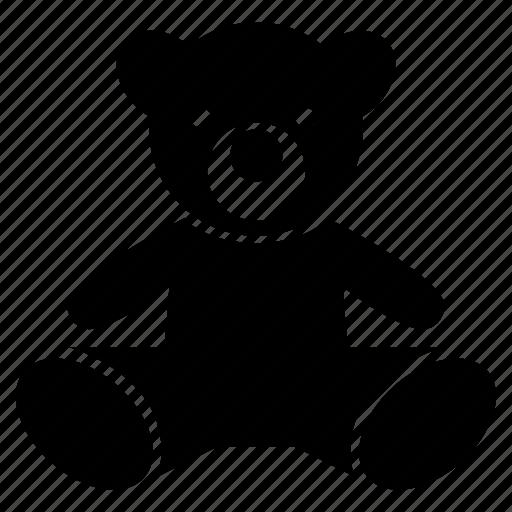 bear, children, toy icon