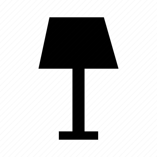 desk lamp, lamp, light fitting, light fixture, luminaire, table lamp icon