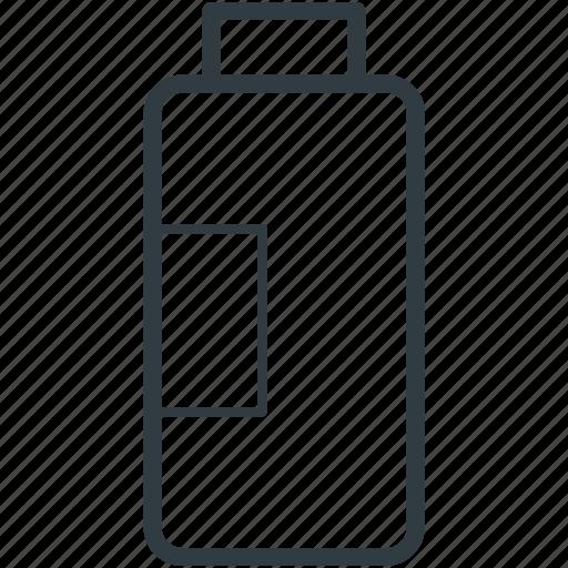 bottle, cosmetic, powder, powder container, talcum powder icon