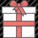 birthday, bow, gift, present, ribbon, travelculture icon icon