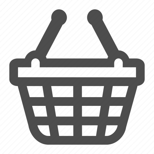 basket, buy, buying, cart, commerce, groceries, online icon