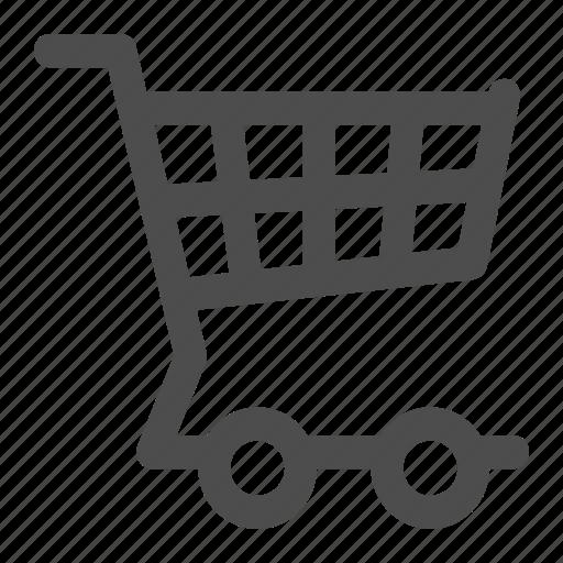 basket, buy, buying, caddie, caddy, cart, trolley icon