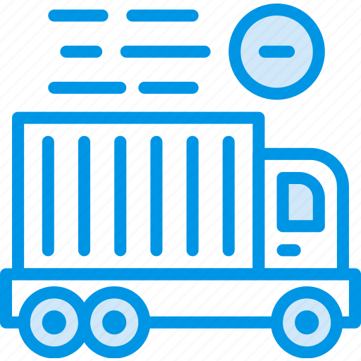 business, delivery, shop, shopping, truck icon
